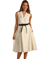 Jones New York - Sleeveless Self Tie Dress