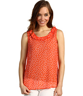 Jones New York - A-Line Tank Neck Ruffle Detail