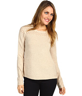 Rebecca Taylor - Mesh Stitch Crew Neck Sweater