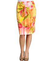 Jones New York - Petite Floral Slim Skirt