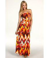 Lucky Brand - Melanie Tribal Maxi Dress