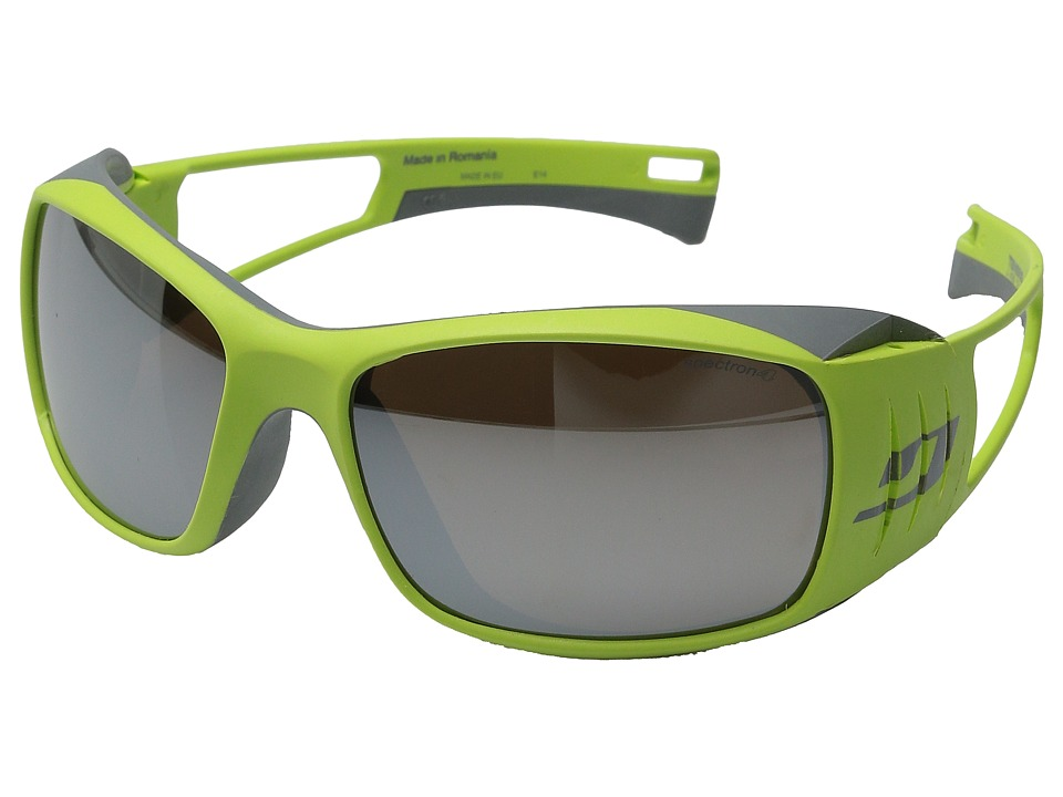 Julbo Eyewear Tensing With Spectron 4 Green/Grey Athletic Performance Sport Sunglasses