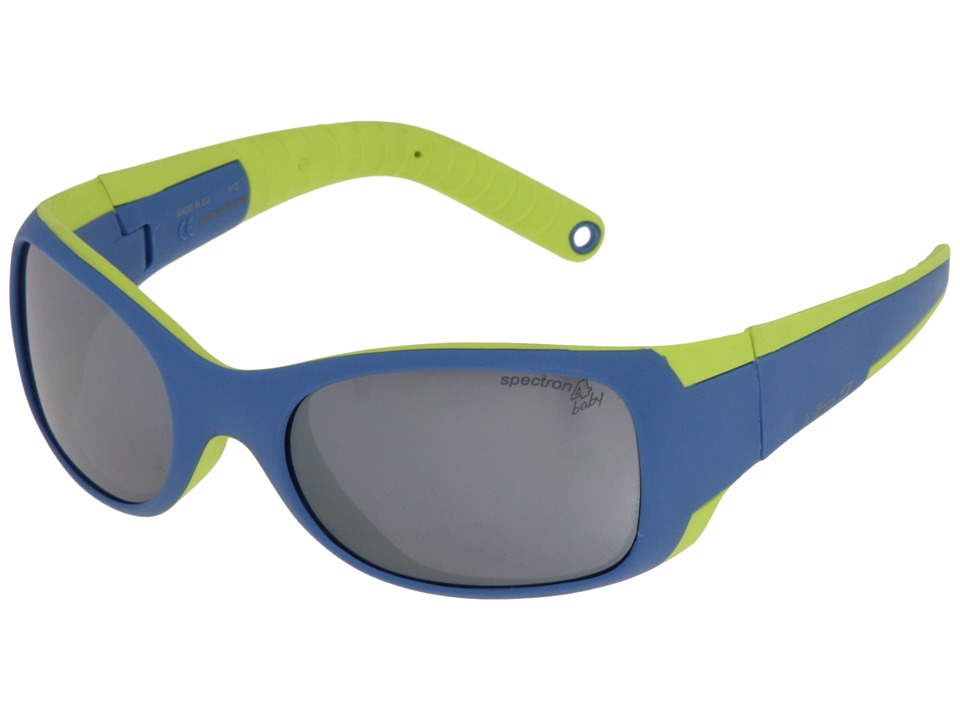 Julbo Eyewear Booba Little Kids Blue/Lime Athletic Performance Sport Sunglasses