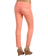 Hudson - Krista Super Skinny Crop in Peach Leopard