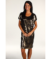 MICHAEL Michael Kors - Splatter Sequin Scoop Neck Dress