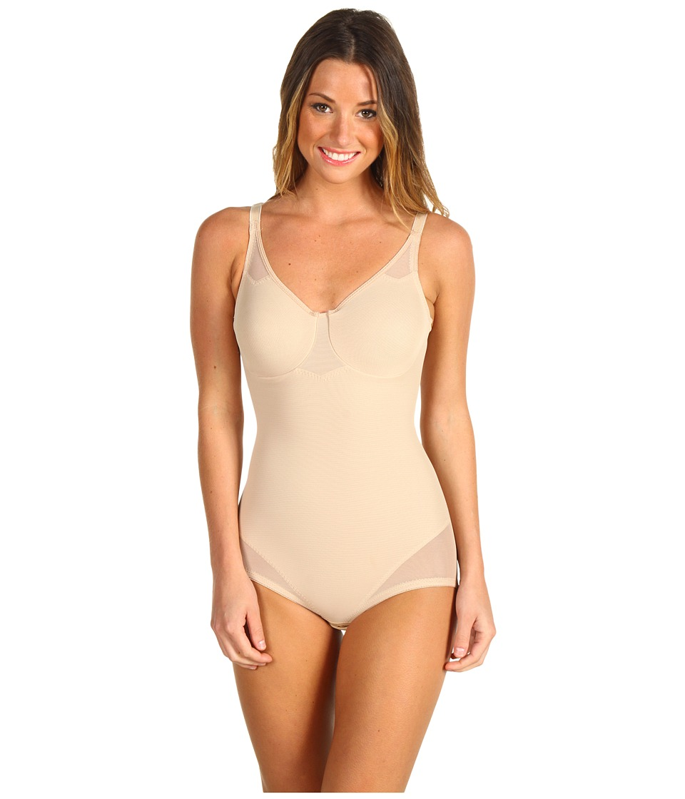 Miraclesuit Shapewear - Extra Firm Sexy Sheer Shaping Bodybriefer (Nude) Women's Bra