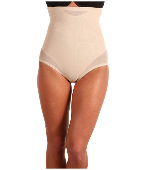 Miraclesuit Shapewear Extra Firm Sexy Sheer Shaping Hi-Waist Brief - Nude