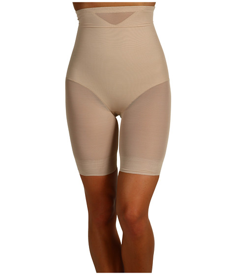 Miraclesuit Shapewear Extra Firm Sexy Sheer Shaping Hi-Waist Thigh Slimmer
