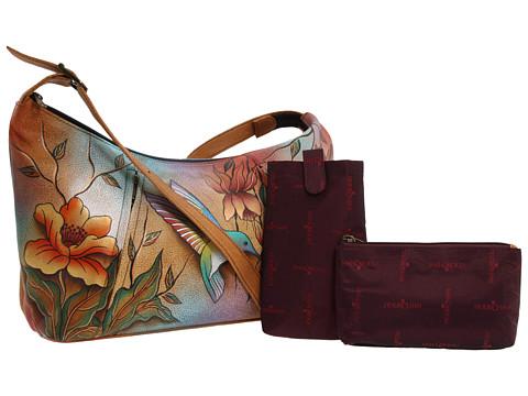 Anuschka Handbags 450 Medium Zippered Hobo