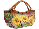 Anuschka Handbags - 440 (Sunflower Safari) - Bags and Luggage