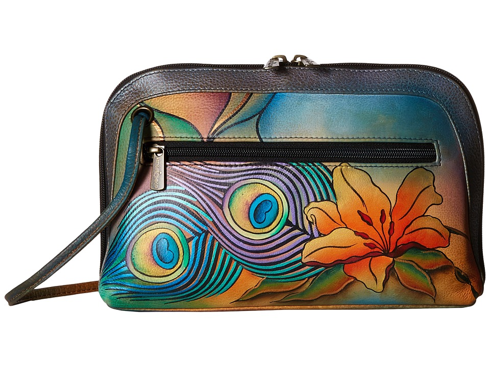 Anuschka Handbags - 349 (Peacock Lily) Handbags