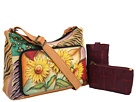 Anuschka Handbags - 479 (Sunflower Safari) - Bags and Luggage