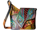 Anuschka Handbags - 257 (Dancing Peacock) - Bags and Luggage