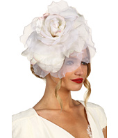 Jane Tran - Large White Silk Flower Headband