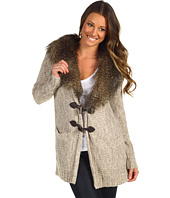 Twelfth Street by Cynthia Vincent - Detachable Faux Fur Collar Revese Felicity