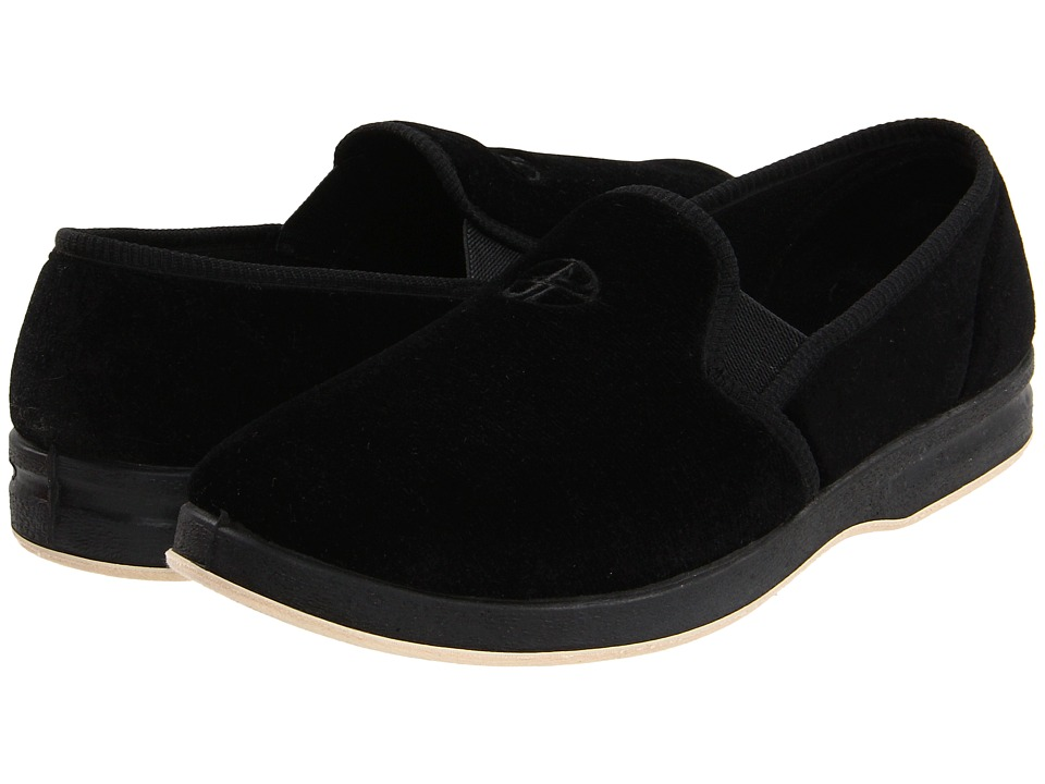 Foamtreads Glendale Black Mens Slippers