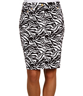 Jones New York - Slim Skirt w/ Jean Detail
