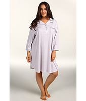 Karen Neuburger - Plus Size Barefoot in Barcelona 3/4 Sleeve Girlfriend Nightshirt
