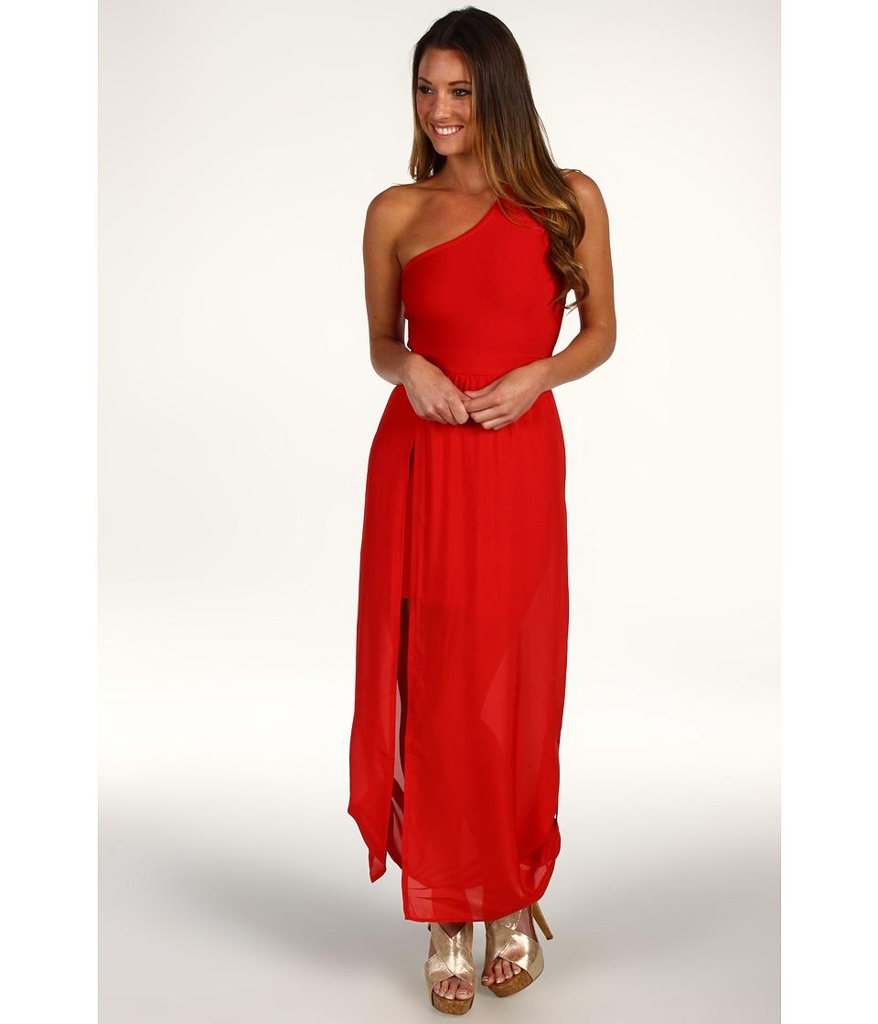 Stretta Siwa Dress Ruby Red Womens Dress