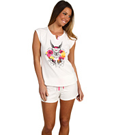 Betsey Johnson - True Love Forever Stretch Cotton Shortie PJ Set