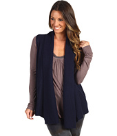 Michael Stars - Cashmere Blend Mixed Stitch Cascade Vest