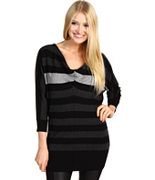 Michael Stars - Cashmere Blend Stripe Drape Neck Tunic