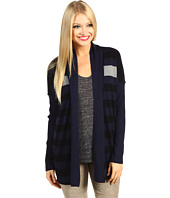 Michael Stars - Cashmere Blend Stripe Open Cardigan
