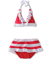Seafolly Kids - Yacht Club '70s Halter Skirtini (Infant/Toddler/Little Kids)