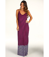 Michael Stars - Colorblock Ombre Stripe Maxi Dress