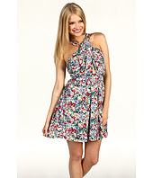 BCBGeneration - Floral Print Crisscross Dress
