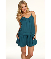 BCBGeneration - Pleated V-Neck Romper