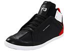 adidas Y-3 by Yohji Yamamoto - Kazuhiri High Top Sneaker (Black Y-3/LgtScarlet/Rwht Ftw) - Footwear