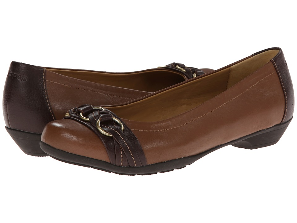 Comfortiva Posie - Soft Spots (Tobacco Silk Sheep Ionic) Slip-On Shoes