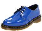 Dr. Martens - 1461 3-Eye Gibson (Royal Blue Patent Lamper) - Footwear