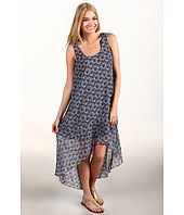 BCBGeneration - Printed High-Low Hem Dress