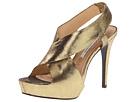 Diane Von Furstenberg - Zia II (Gold Lizard Print) - Footwear