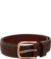 Torino Leather Co. - Sanded Leather Belt w/Copper Buckle