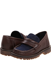 Dolce & Gabbana - Leather+Denim Loafer (Toddler/Youth)