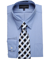 Giorgio Brutini - L/S Dress Shirt with Tie - 201RXCG