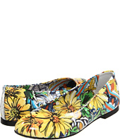 Dolce & Gabbana - Printed Patent Leather Ballerina (Youth)