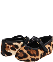 Dolce & Gabbana - Pony Printed-Leather Ballerina (Infant)