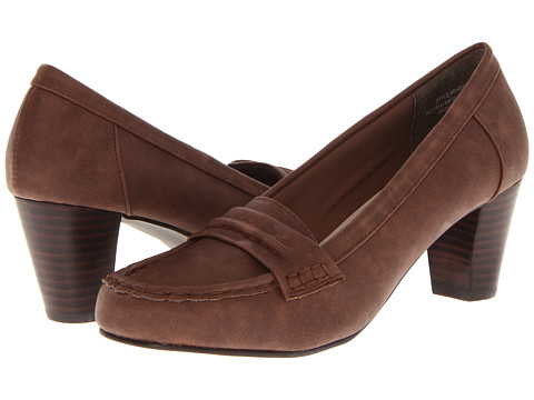 Annie - Broque (Brown Nubuck) - Footwear