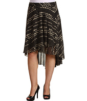 Kenneth Cole New York - Plus Polka Dot Print Hi-Low Skirt