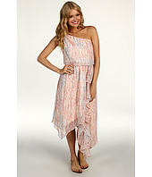 Jessica Simpson - Print One Shoulder Asymmetrical Dress