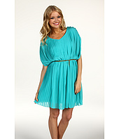 Jessica Simpson - V-Neck Gathered Drape Dress