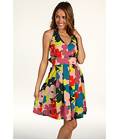 Jessica Simpson - Floral Tie Back Halter Dress