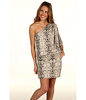 Jessica Simpson - Python Print One Shoulder Mini Dress