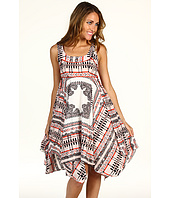 Jessica Simpson - Scarf Hem Tank Dress w/ Back Cutout