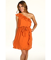Jessica Simpson - One Shoulder Ruffle Dress w/ Self Tie