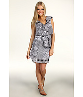 Jessica Simpson - Ruffle V-Neck Blouson Dress